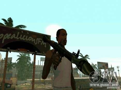 RPG de BF2 para GTA San Andreas segunda pantalla