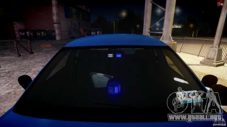 Ford Crown Victoria Detective v4.7 [ELS] para GTA 4 vista lateral