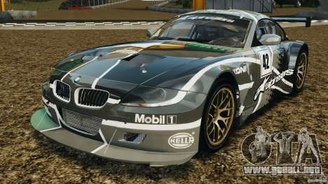 BMW Z4 M Coupe Motorsport para GTA 4