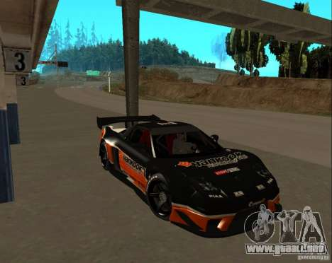 Acura NSX Sumiyaka para visión interna GTA San Andreas
