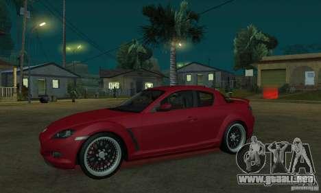 Luces de neón rojo para GTA San Andreas sucesivamente de pantalla