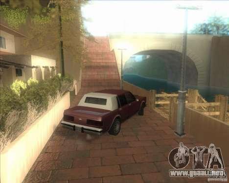 Mi configuración ENBSeries HD para GTA San Andreas sucesivamente de pantalla