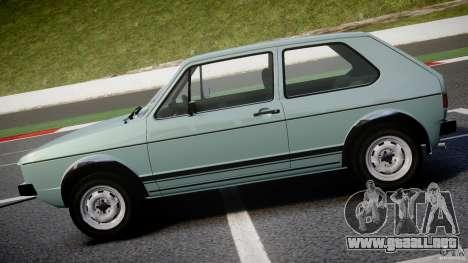 Volkswagen Golf Mk1 para GTA 4 left
