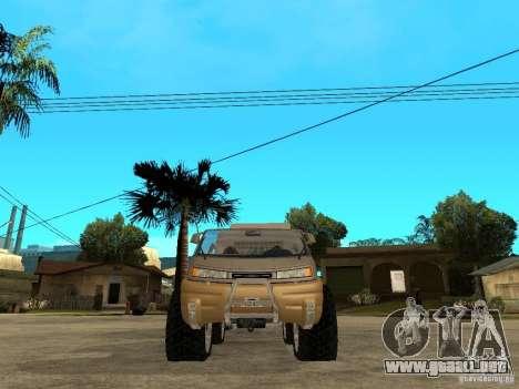 Ford Intruder 4x4 Concept + Caravan para la visión correcta GTA San Andreas