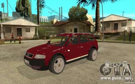 Audi Allroad Quattro v1.1 para GTA San Andreas