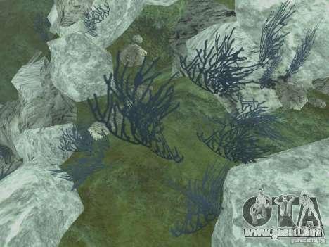 Texturas HD del fondo marino para GTA San Andreas sucesivamente de pantalla