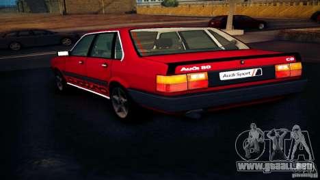 Audi 80 B2 para GTA San Andreas left
