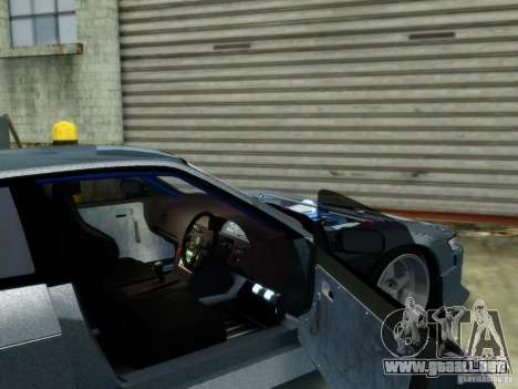 Nissan Silvia S13 para GTA 4 Vista posterior izquierda