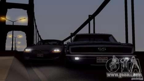 SA_gline para GTA San Andreas quinta pantalla