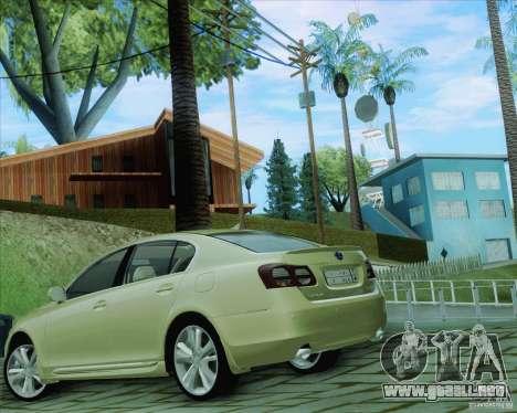 Lexus GS450h 2011 para GTA San Andreas left