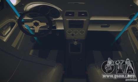 Subaru Impreza WRX STI Futou Battle para visión interna GTA San Andreas
