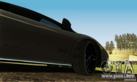 Lamborghini Murcielago LP 670-4 SV para la vista superior GTA San Andreas