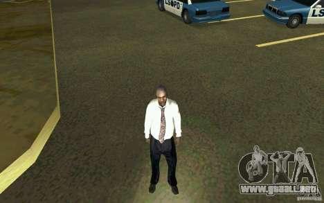 Civil HD para GTA San Andreas tercera pantalla