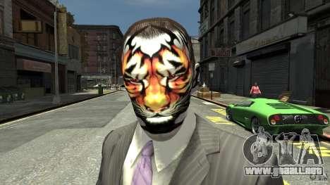 Tatoo Tiger para GTA 4