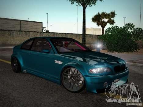 BMW E46 Drift II para visión interna GTA San Andreas