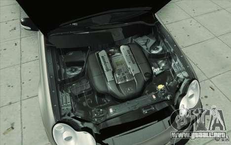 Mercedes-Benz C32 AMG Tuning para vista inferior GTA San Andreas