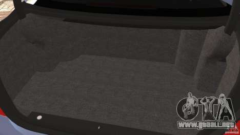 Mercedes-Benz S W221 Wald Black Bison Edition para GTA 4 vista desde abajo