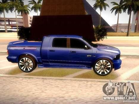 Dodge Ram R/T 2011 para la visión correcta GTA San Andreas