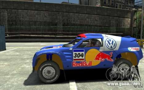 Volkswagen Touareg Rally para GTA 4 left