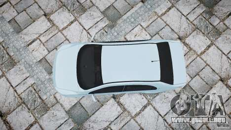 Volkswagen Voyage Comfortline para GTA 4 visión correcta