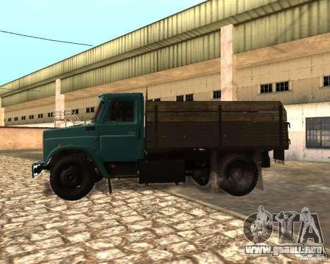 433362 ZIL para la visión correcta GTA San Andreas