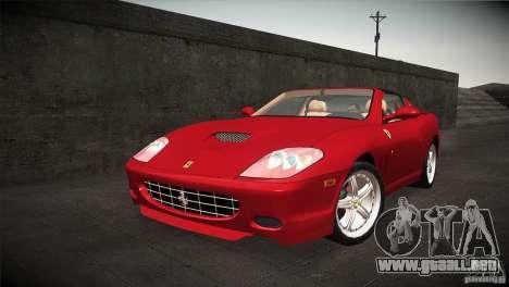 Ferrari 575 Superamerica v2.0 para GTA San Andreas