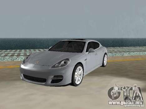 Porsche Panamera Turbo Tunable para GTA San Andreas