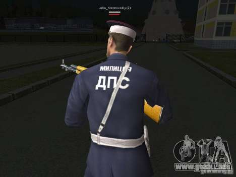 Pieles de milicia para GTA San Andreas sexta pantalla