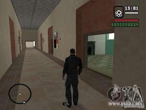 Traje de Adidas para GTA San Andreas tercera pantalla