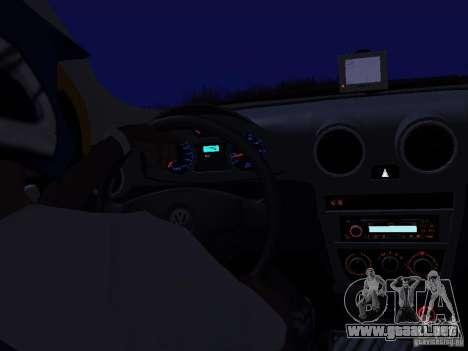Volkswagen Gol Rallye 2012 para la visión correcta GTA San Andreas