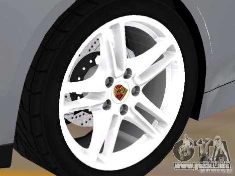 Porsche Panamera Turbo Tunable para la visión correcta GTA San Andreas
