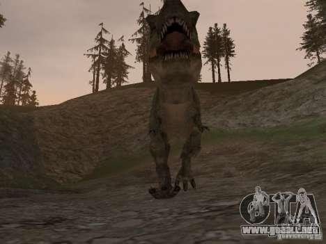 Dinosaurs Attack mod para GTA San Andreas quinta pantalla