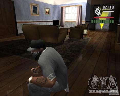 Detector de l. a. t. s. k. e. R # 2 para GTA San Andreas segunda pantalla