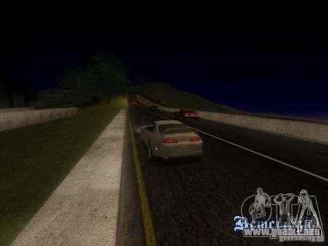 0,075 ENBSeries para PC débil para GTA San Andreas segunda pantalla