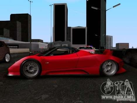 Pagani Zonda EX-R para la visión correcta GTA San Andreas