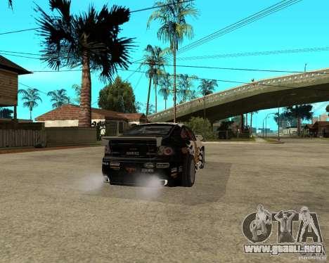 Vauxhall Monaro Rogue Speed para GTA San Andreas vista posterior izquierda
