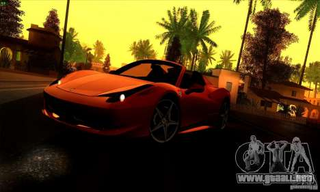 SA_gline 4.0 para GTA San Andreas segunda pantalla