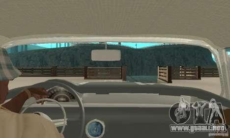 Pontiac Safari 1956 para la visión correcta GTA San Andreas