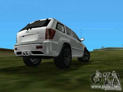 Jeep Grand Cherokee SRT8 TT Black Revel para GTA Vice City left