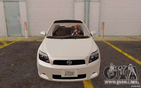Scion tC para GTA San Andreas left