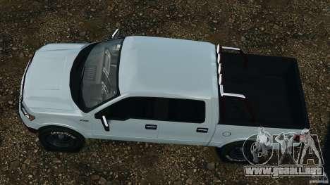 Ford F-150 v1.0 para GTA 4 visión correcta