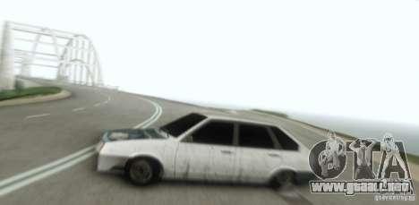 Vaz 2109 Hobo para GTA San Andreas vista hacia atrás