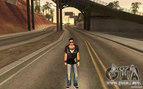 Biker para GTA San Andreas quinta pantalla