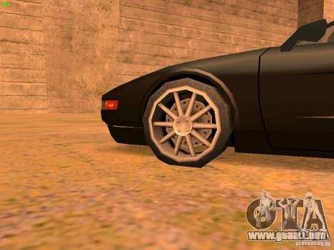 Infernus Revolution para el motor de GTA San Andreas