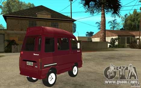 KIA Towner para la visión correcta GTA San Andreas