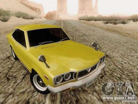 Mazda Savanna RX3 para visión interna GTA San Andreas