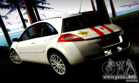 Renault Megane Coupe 2008 TR para GTA San Andreas left