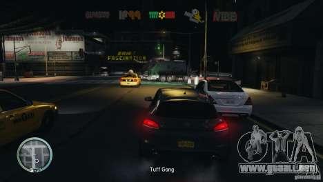 Coloured Radio HUD para GTA 4 tercera pantalla