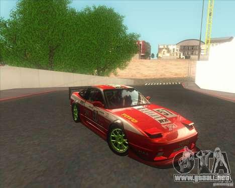 Nissan 240SX for drift para GTA San Andreas