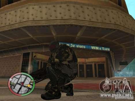Armas exóticas de Crysis 2 para GTA San Andreas tercera pantalla
